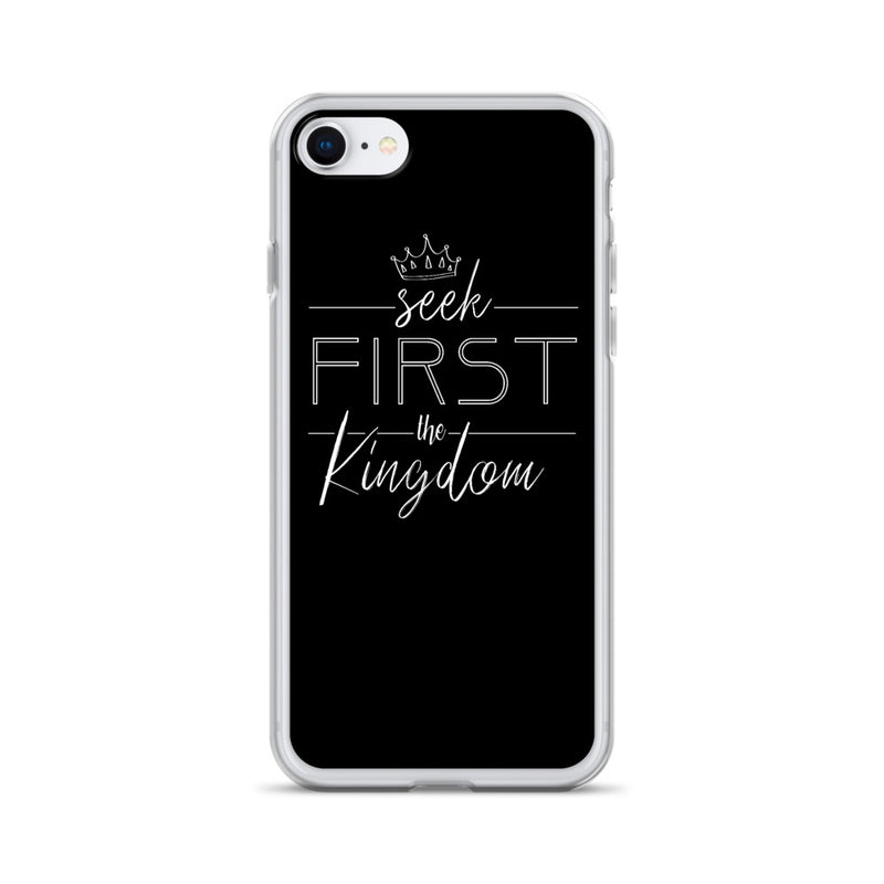 Seek first the kingdom iPhone Hülle