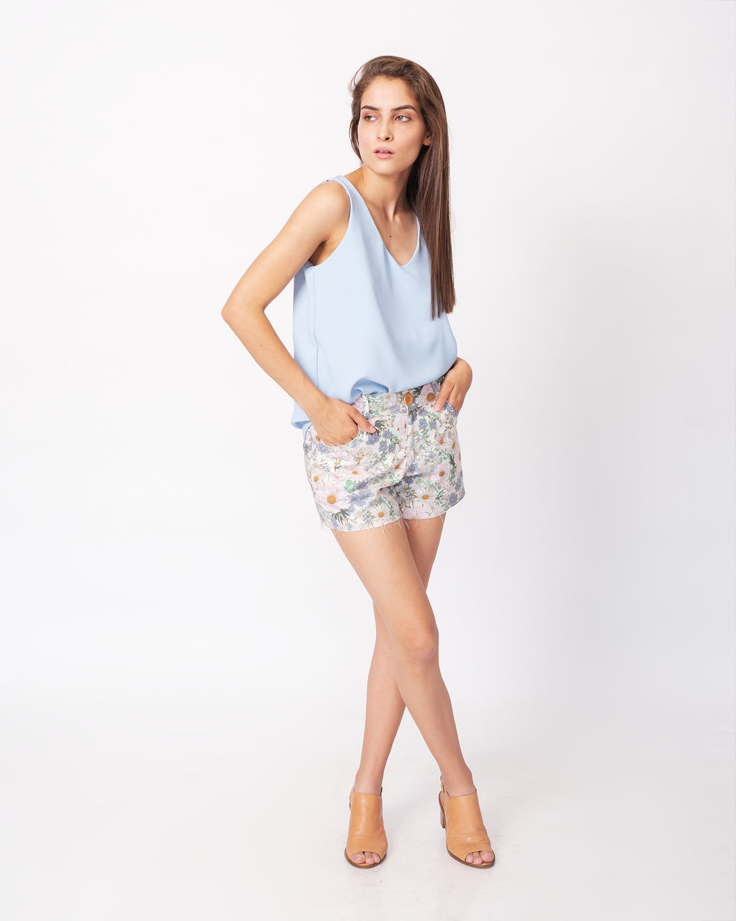 Blusa Dalia Light Blue