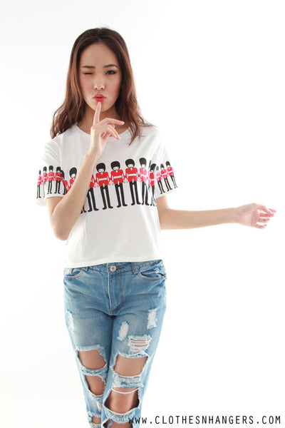 Mini Soldiers Tee Top