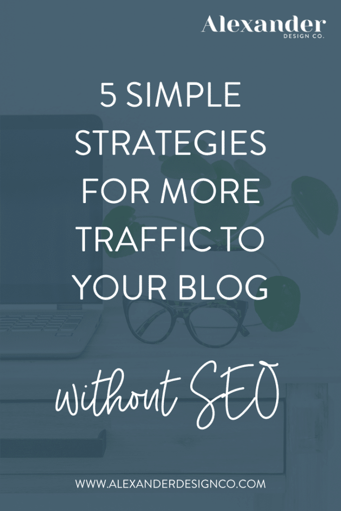 5 Simple Strategies for more traffic to your blog