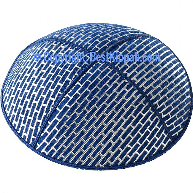 D68 - BRICKS EMBOSSING (kippah)