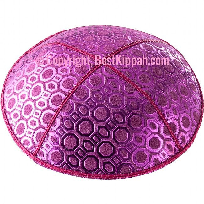 D83 - HONEY COMB EMBOSSING (kippah)