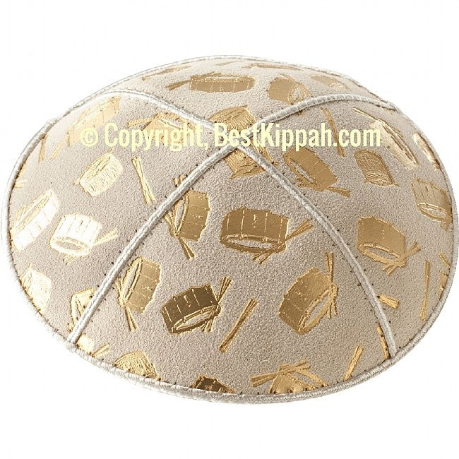 D98 - DRUMS EMBOSSING (kippah)