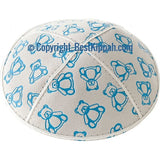 D103 - TEDDY BEARS EMBOSSING (kippah)