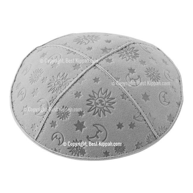 C43 - AQUARIUS EMBOSSING KIPPAH
