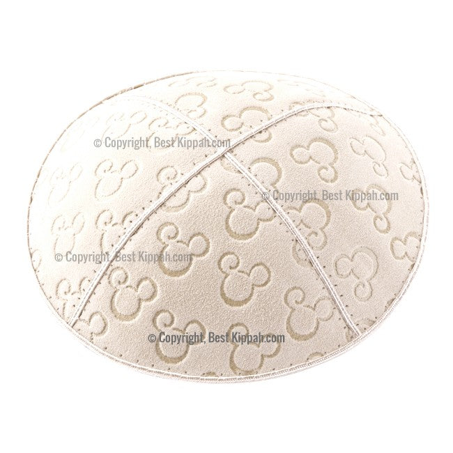 C47 - MICKEY MOUSE EMBOSSING KIPPAH