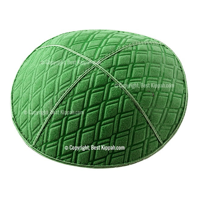 C62 - DIAMOND EMBOSSING KIPPAH