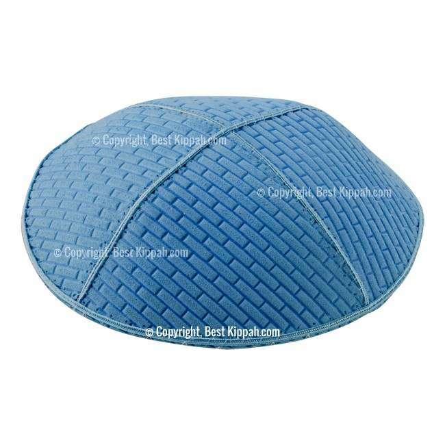 C68 - BRICKS EMBOSSING KIPPAH