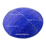 C83 - HONEY COMB EMBOSSING KIPPAH