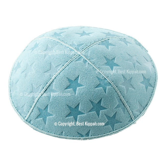 C93 - BIG STARS EMBOSSING KIPPAH