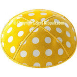 D76 - METALLIC POLKA DOTS EMBOSSING (Kippah)