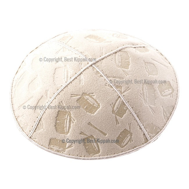 C98 - DRUMS EMBOSSING KIPPAH