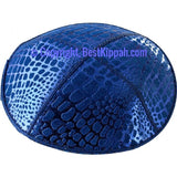 D40 - ALLIGATOR EMBOSSING (kippah)