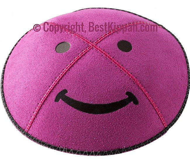 METALLIC SMILEY (Kippah)