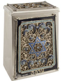 Star of David Tzedakah Box TZBX01A