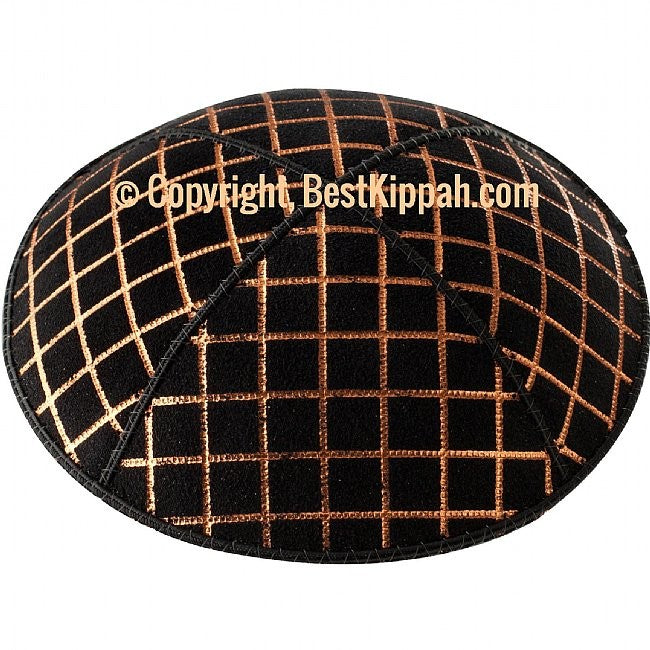 D71 - METALLIC QUILTED EMBOSSING (Kippah)