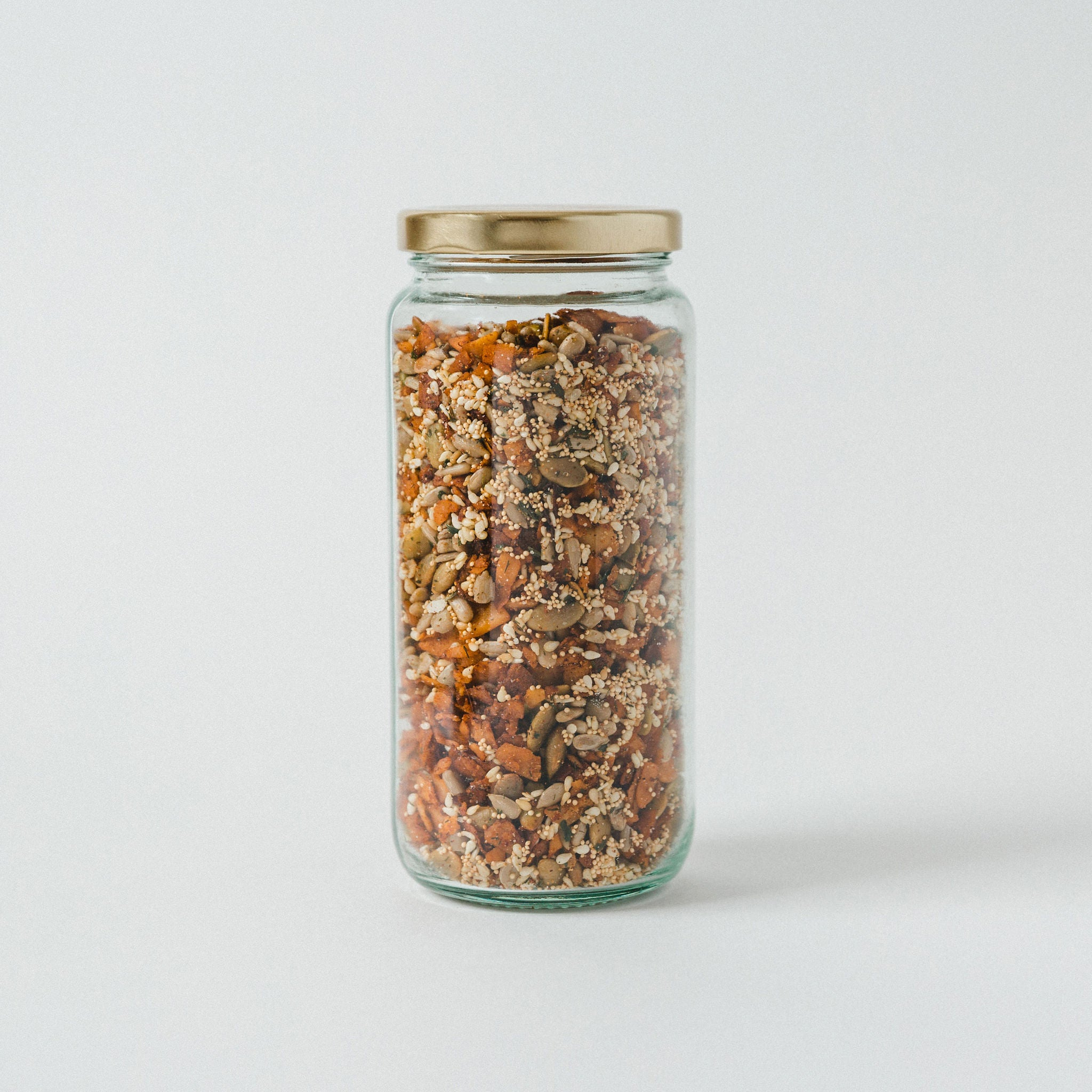 """Bacon"" Bits & Power Seed Salad Topper - Vegan & GF"