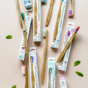 Adult Bamboo Toothbrushes - Soft