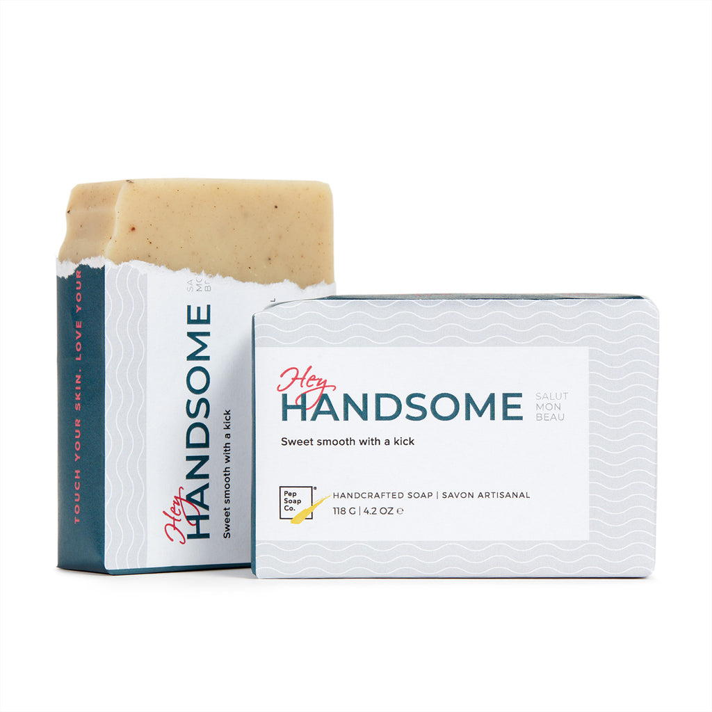 The Pep Soap Co. Hey Handsome - sweet Ylang Ylang with spicy Clove