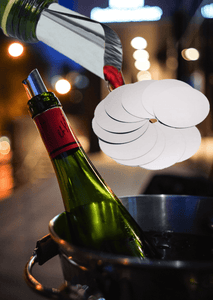 10 Pack Dripless Wine Pourer Disks
