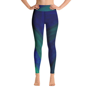 Angler River Traders Emerald Archway Yoga Leggings - angler-river-traders