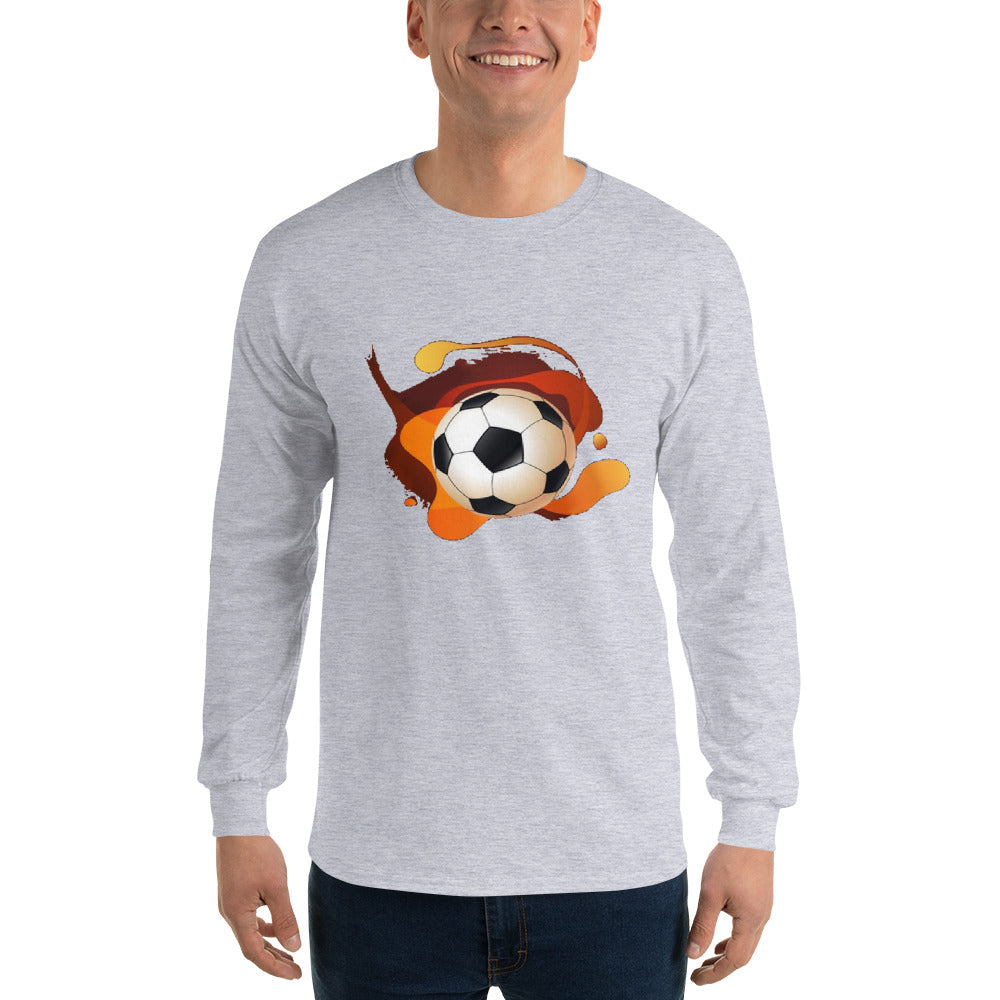 Angler River Traders Soccer Splash Long Sleeve T-Shirt - angler-river-traders