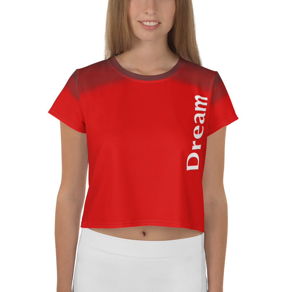 Angler River Traders Red Dream Crop Tee - angler-river-traders