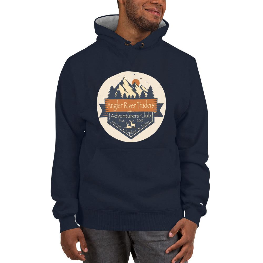 Angler River Traders Adventurers Club Champion Hoodie - angler-river-traders