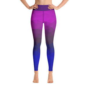 Angler River Traders Geometric Yoga Leggings - angler-river-traders