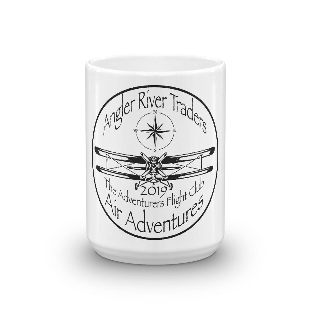 Adventurers Flight Club 15oz Coffee Mug - angler-river-traders