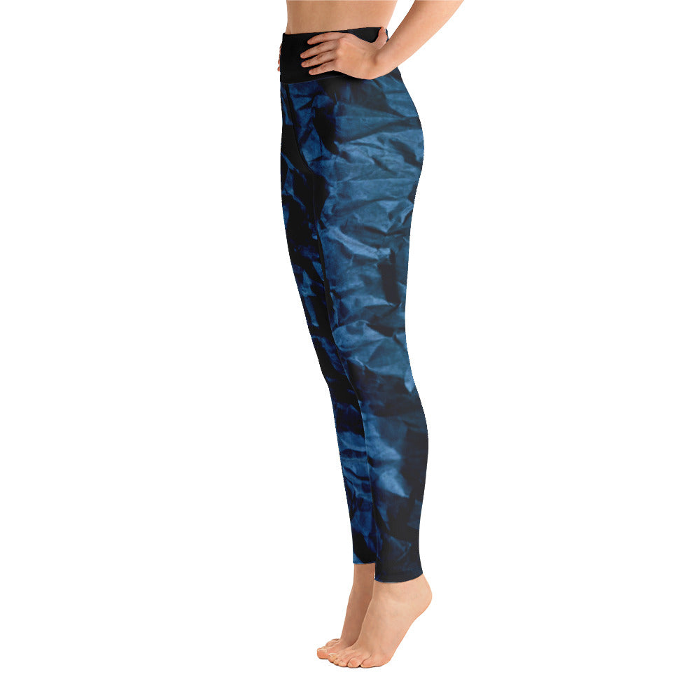 Angler River Traders Paper Waves Yoga Leggings - angler-river-traders