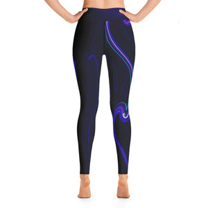 Angler River Traders Cosmic Current Yoga Leggings - angler-river-traders