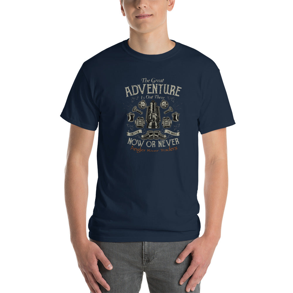 Angler River Traders Adventure Now or Never Short-Sleeve T-Shirt - angler-river-traders
