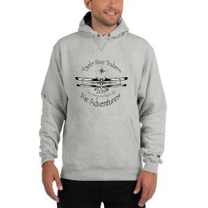 Angler River Traders Adventurers Flight Club Champion Hoodie - angler-river-traders