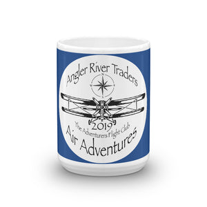 Adventurers Flight Club 15oz. Coffee Mug - angler-river-traders