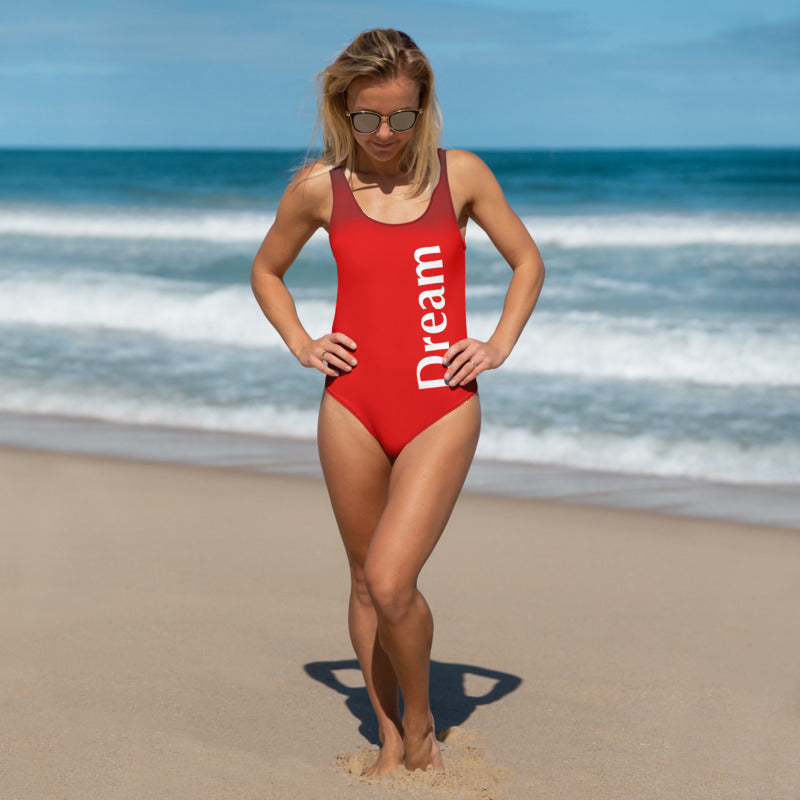 Angler River Traders Red Dream One-Piece Swimsuit - angler-river-traders