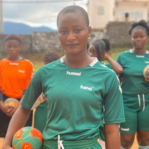 Handball creates hope for vulnerable girls in Sierra Leone