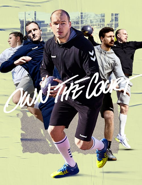 Own The Court - hummel handballshoes AW19