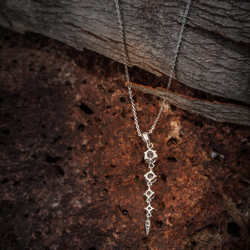 Sterling Silver 925 Elegant Necklace - Only 2