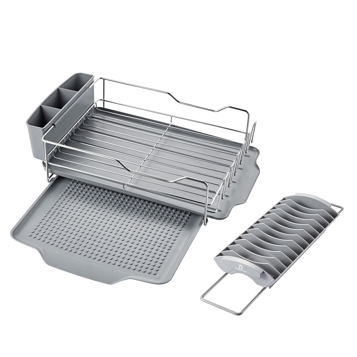 ... Large Capacity Stainless Steel Dish Drying Rack ...