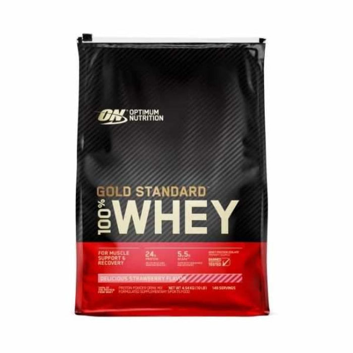 Gold Standard 100% Whey 10lbs by Optimum Nutrition