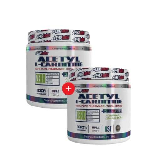 2 X Acetyl L-Carnitine By EHP Labs Genesis SUPPLEMENT PACK 347522722318