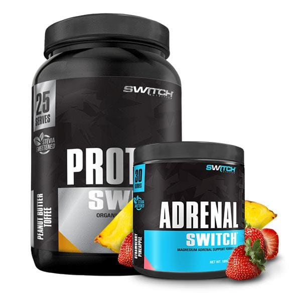 Adrenal Switch + Protein Switch by Switch Nutrition