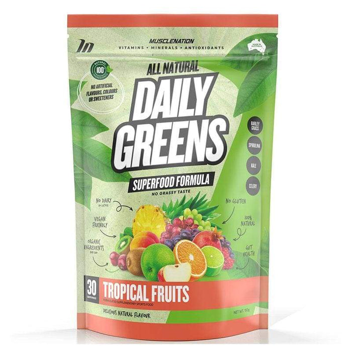 All Natural Daily Greens by Muscle Nation | Greens & Fruit