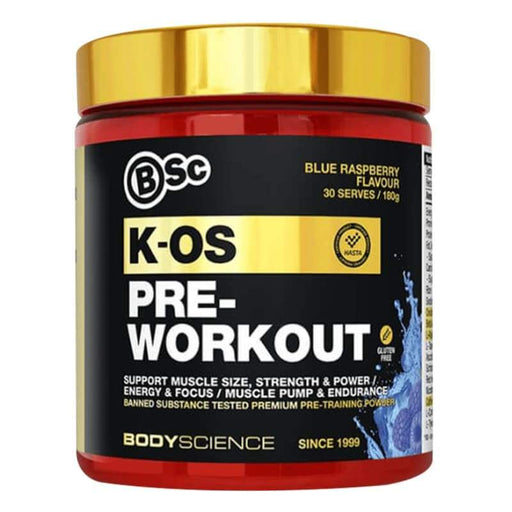 Body Science BSC K-OS Pre Workout by Body Science | Pre Workout Supplement | Genesis