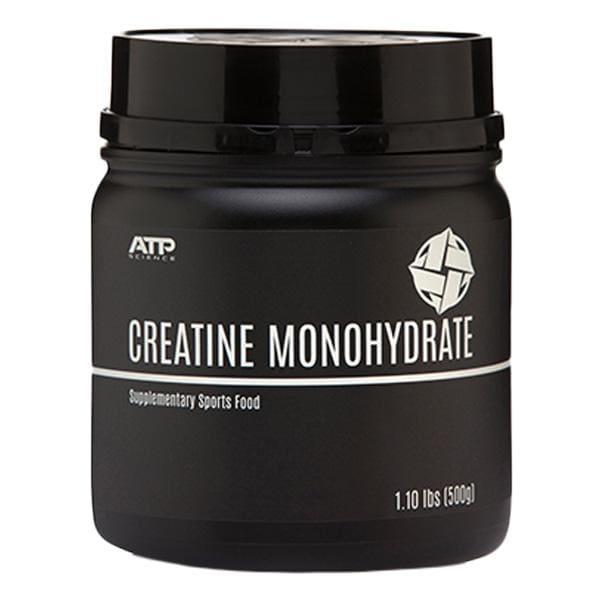 Creatine Monohydrate by ATP Science - 0.50KG - 100 Serves /