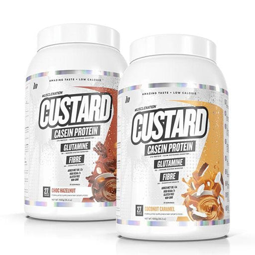 2 x Custard Casein by Muscle Nation