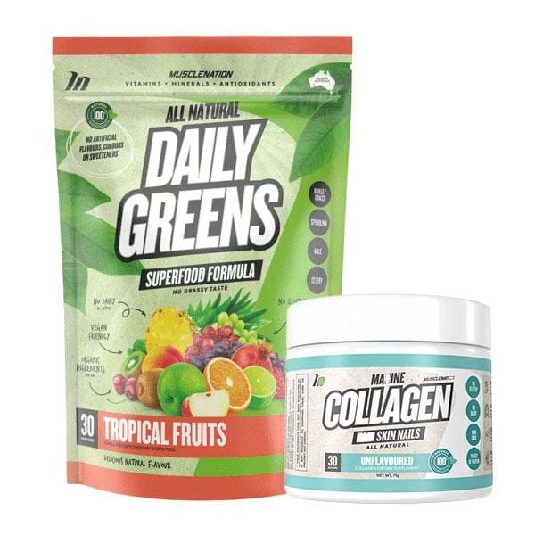 Daily Greens + Collagen by Muscle Nation