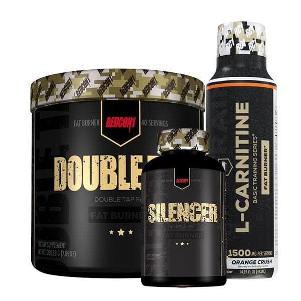 Double Tap + Silencer + L-Carnitine by Redcon1