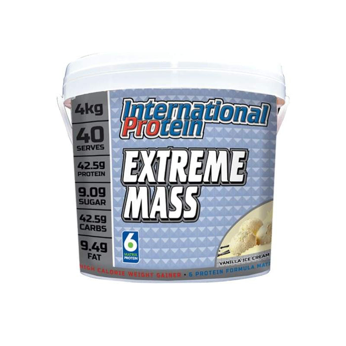 Extreme Mass by International Protein - Balanced Weight Gainer! International Protein PROTEIN - WEIGHT GAIN